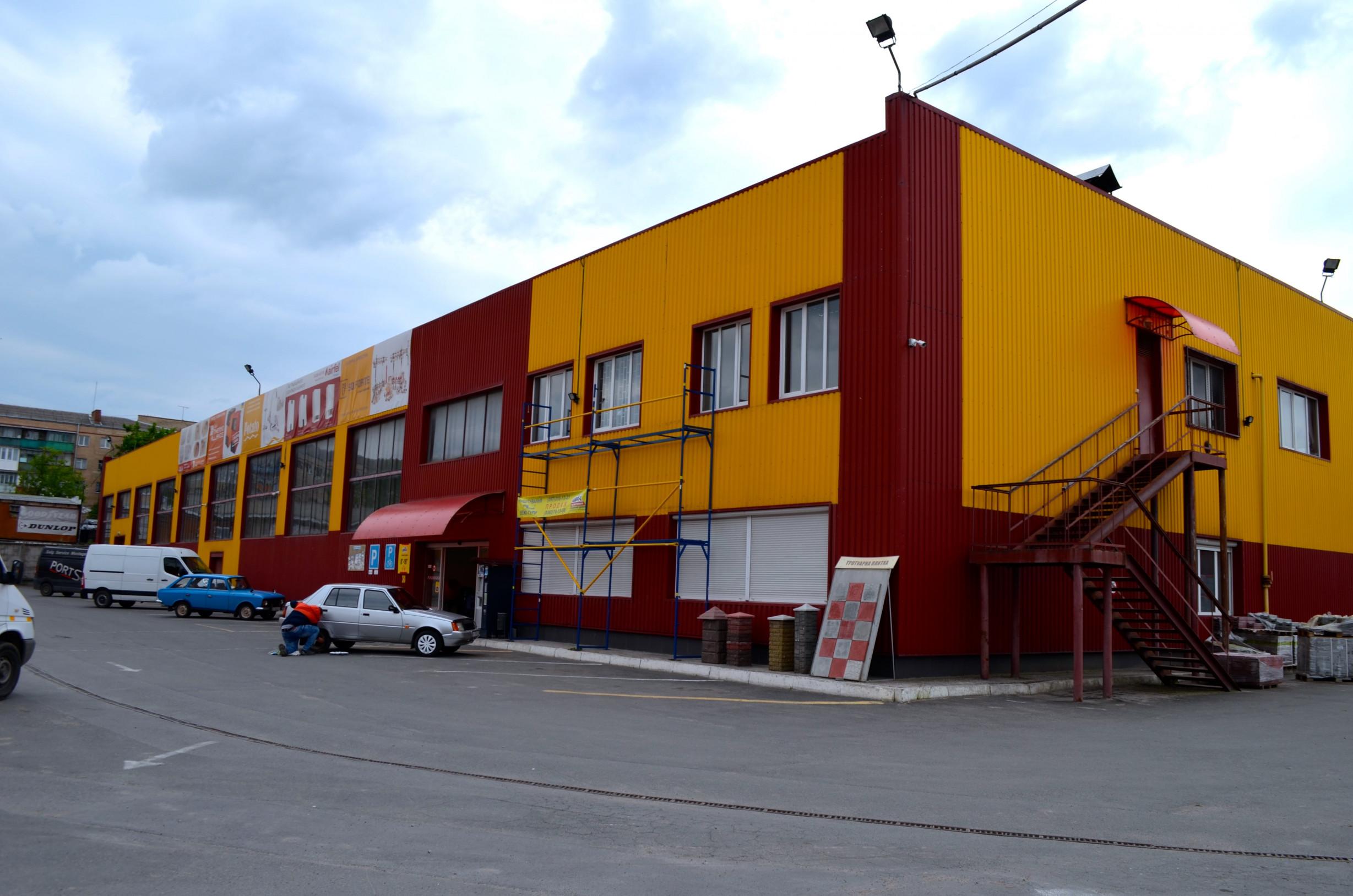 Реконструкція виробничого цеху під склад і магазин промислових товарів та будівельних матеріалів «Цвях»